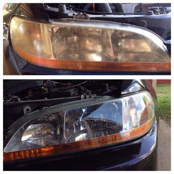 how to fix dull headlights with toothpaste